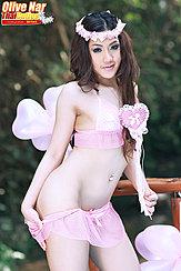 Pulling Skirt Down