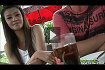 Hanna Lee Picked Up At Bar And Spit Roasted In Threesome Sex